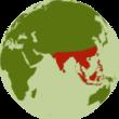 Utbredningsomr de asiatisk elefant thumb