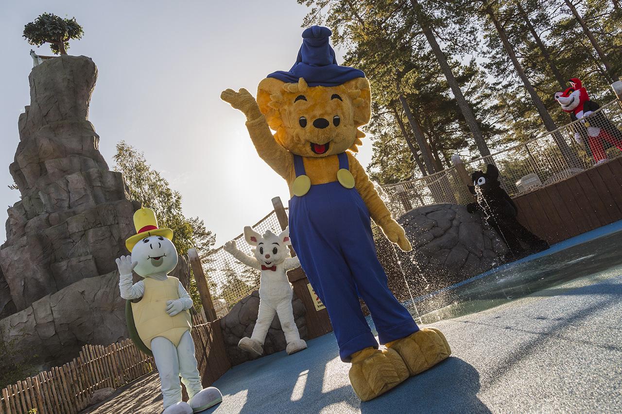 Bamses äventyrshelg Kolmårdens Djurpark