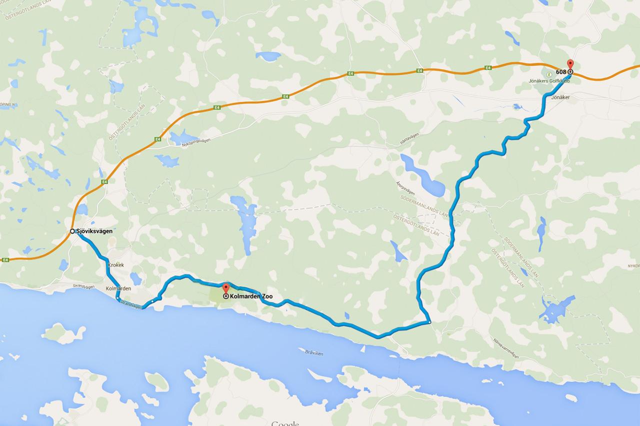 sverigekarta landskap småland